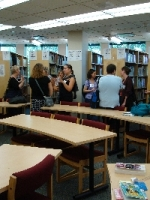 Visite de la bibliothèque