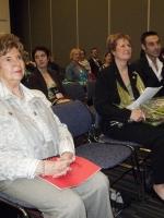 Jocelyne Dion en compagnie de sa mère et son fils