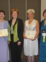 Jocelyne Dion et les autres récipiendaires de la CASL