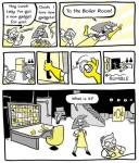 Capsule littéraire de Marie-Josée Proulx St-Pierre (bande dessinée anglais)